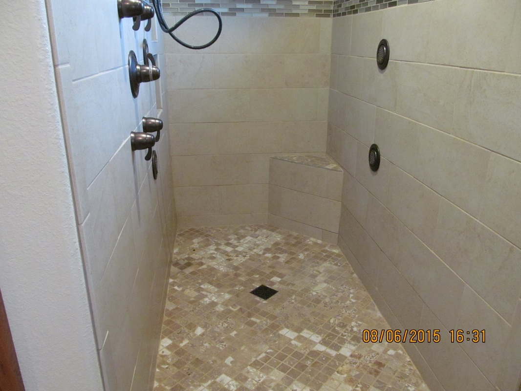 Gallery 5737964721 ceramic tile on floor of shower dailygadgetfo Images